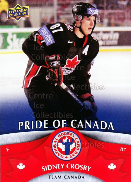 2013 Upper Deck National Hockey Card Day Canada #6 Sidney Crosby<br/>1 In Stock - $3.00 each - <a href=https://centericecollectibles.foxycart.com/cart?name=2013%20Upper%20Deck%20National%20Hockey%20Card%20Day%20Canada%20%236%20Sidney%20Crosby...&price=$3.00&code=536379 class=foxycart> Buy it now! </a>