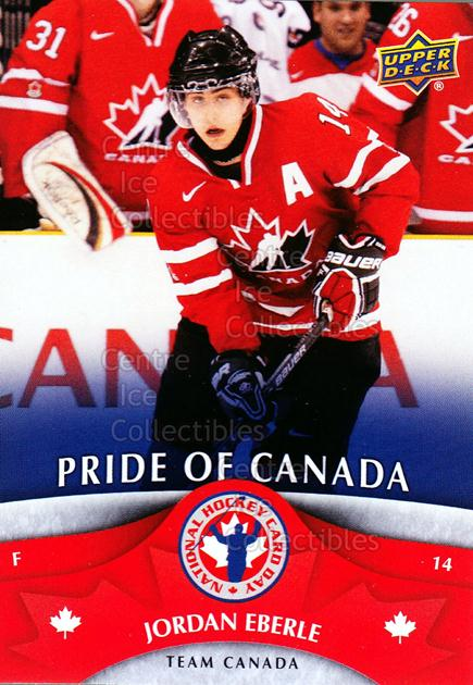 2013 Upper Deck National Hockey Card Day Canada #8 Jordan Eberle<br/>7 In Stock - $2.00 each - <a href=https://centericecollectibles.foxycart.com/cart?name=2013%20Upper%20Deck%20National%20Hockey%20Card%20Day%20Canada%20%238%20Jordan%20Eberle...&quantity_max=7&price=$2.00&code=536381 class=foxycart> Buy it now! </a>