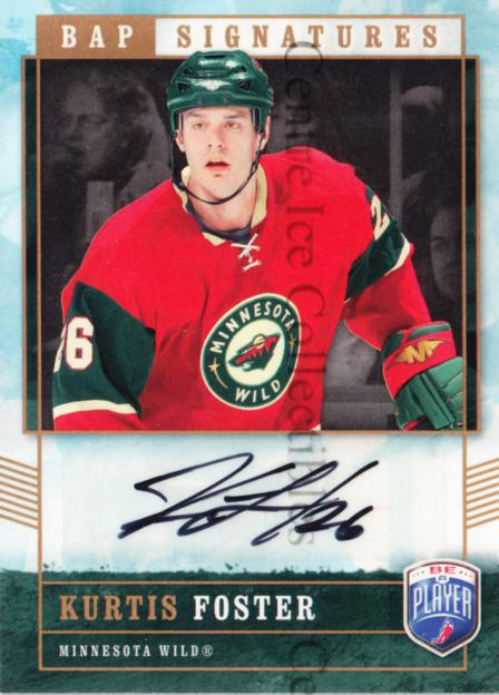 2006-07 Be A Player Signatures #KF Kurtis Foster<br/>1 In Stock - $5.00 each - <a href=https://centericecollectibles.foxycart.com/cart?name=2006-07%20Be%20A%20Player%20Signatures%20%23KF%20Kurtis%20Foster...&quantity_max=1&price=$5.00&code=536660 class=foxycart> Buy it now! </a>