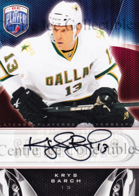 2009-10 Be A Player Signatures #SKB Krys Barch<br/>3 In Stock - $5.00 each - <a href=https://centericecollectibles.foxycart.com/cart?name=2009-10%20Be%20A%20Player%20Signatures%20%23SKB%20Krys%20Barch...&quantity_max=3&price=$5.00&code=537147 class=foxycart> Buy it now! </a>