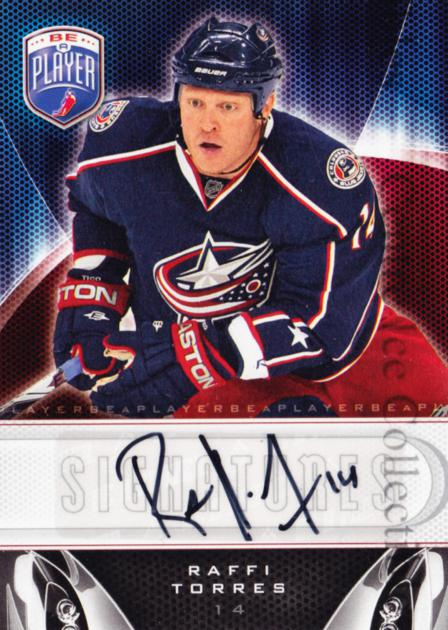 2009-10 Be A Player Signatures #SRT Raffi Torres<br/>2 In Stock - $5.00 each - <a href=https://centericecollectibles.foxycart.com/cart?name=2009-10%20Be%20A%20Player%20Signatures%20%23SRT%20Raffi%20Torres...&quantity_max=2&price=$5.00&code=537213 class=foxycart> Buy it now! </a>