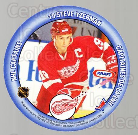 1993-94 Kraft Peanut Butter Discs NHL Captains #13 Scott Stevens, Steve Yzerman<br/>5 In Stock - $5.00 each - <a href=https://centericecollectibles.foxycart.com/cart?name=1993-94%20Kraft%20Peanut%20Butter%20Discs%20NHL%20Captains%20%2313%20Scott%20Stevens,%20...&price=$5.00&code=537262 class=foxycart> Buy it now! </a>