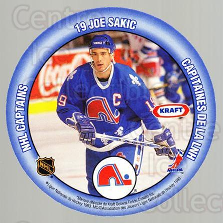 1993-94 Kraft Peanut Butter Discs NHL Captains #12 Joe Nieuwendyk, Joe Sakic<br/>4 In Stock - $3.00 each - <a href=https://centericecollectibles.foxycart.com/cart?name=1993-94%20Kraft%20Peanut%20Butter%20Discs%20NHL%20Captains%20%2312%20Joe%20Nieuwendyk,...&price=$3.00&code=537267 class=foxycart> Buy it now! </a>