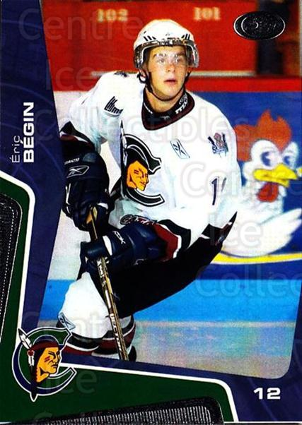 2005-06 Shawinigan Cataractes #7 Eric Begin<br/>2 In Stock - $3.00 each - <a href=https://centericecollectibles.foxycart.com/cart?name=2005-06%20Shawinigan%20Cataractes%20%237%20Eric%20Begin...&quantity_max=2&price=$3.00&code=538015 class=foxycart> Buy it now! </a>