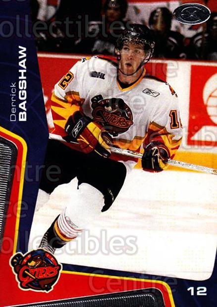 2005-06 Erie Otters #2 Derrick Bagshaw<br/>9 In Stock - $3.00 each - <a href=https://centericecollectibles.foxycart.com/cart?name=2005-06%20Erie%20Otters%20%232%20Derrick%20Bagshaw...&quantity_max=9&price=$3.00&code=538080 class=foxycart> Buy it now! </a>