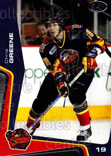 2005-06 Erie Otters #4 Chris Greene<br/>7 In Stock - $3.00 each - <a href=https://centericecollectibles.foxycart.com/cart?name=2005-06%20Erie%20Otters%20%234%20Chris%20Greene...&price=$3.00&code=538082 class=foxycart> Buy it now! </a>