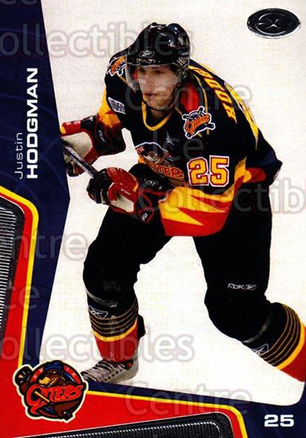 2005-06 Erie Otters #5 Justin Hodgman<br/>2 In Stock - $3.00 each - <a href=https://centericecollectibles.foxycart.com/cart?name=2005-06%20Erie%20Otters%20%235%20Justin%20Hodgman...&price=$3.00&code=538083 class=foxycart> Buy it now! </a>