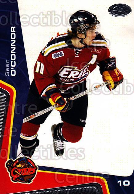2005-06 Erie Otters #8 Sean O'Connor<br/>9 In Stock - $3.00 each - <a href=https://centericecollectibles.foxycart.com/cart?name=2005-06%20Erie%20Otters%20%238%20Sean%20O'Connor...&price=$3.00&code=538086 class=foxycart> Buy it now! </a>