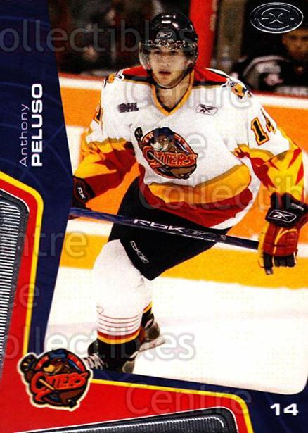 2005-06 Erie Otters #12 Anthony Peluso<br/>4 In Stock - $3.00 each - <a href=https://centericecollectibles.foxycart.com/cart?name=2005-06%20Erie%20Otters%20%2312%20Anthony%20Peluso...&price=$3.00&code=538090 class=foxycart> Buy it now! </a>