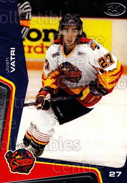 2005-06 Erie Otters #13 Josh Vatri<br/>8 In Stock - $3.00 each - <a href=https://centericecollectibles.foxycart.com/cart?name=2005-06%20Erie%20Otters%20%2313%20Josh%20Vatri...&price=$3.00&code=538091 class=foxycart> Buy it now! </a>
