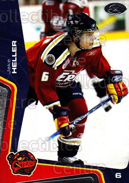 2005-06 Erie Otters #14 Jake Heller<br/>1 In Stock - $3.00 each - <a href=https://centericecollectibles.foxycart.com/cart?name=2005-06%20Erie%20Otters%20%2314%20Jake%20Heller...&price=$3.00&code=538092 class=foxycart> Buy it now! </a>