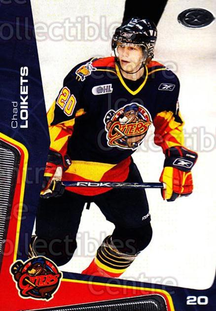 2005-06 Erie Otters #17 Chad Loikets<br/>9 In Stock - $3.00 each - <a href=https://centericecollectibles.foxycart.com/cart?name=2005-06%20Erie%20Otters%20%2317%20Chad%20Loikets...&price=$3.00&code=538095 class=foxycart> Buy it now! </a>