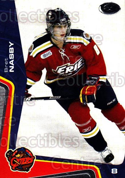 2005-06 Erie Otters #21 Bret Nasby<br/>9 In Stock - $3.00 each - <a href=https://centericecollectibles.foxycart.com/cart?name=2005-06%20Erie%20Otters%20%2321%20Bret%20Nasby...&price=$3.00&code=538099 class=foxycart> Buy it now! </a>