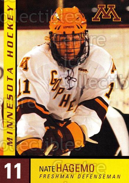 2004-05 Minnesota Golden Gophers #9 Nate Hagemo<br/>7 In Stock - $3.00 each - <a href=https://centericecollectibles.foxycart.com/cart?name=2004-05%20Minnesota%20Golden%20Gophers%20%239%20Nate%20Hagemo...&quantity_max=7&price=$3.00&code=538275 class=foxycart> Buy it now! </a>