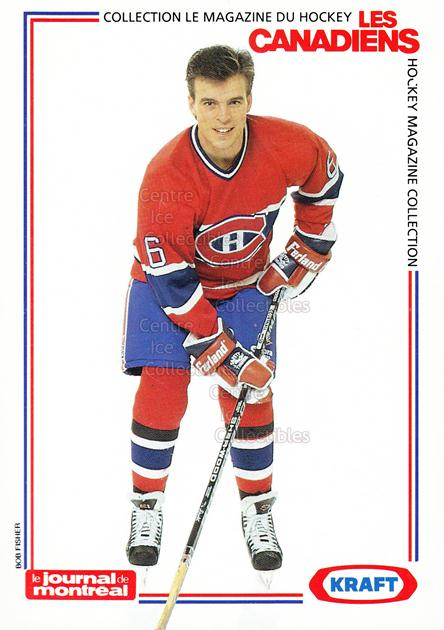 1989-90 Montreal Canadiens Kraft Postcards #5 Russ Courtnall<br/>1 In Stock - $3.00 each - <a href=https://centericecollectibles.foxycart.com/cart?name=1989-90%20Montreal%20Canadiens%20Kraft%20Postcards%20%235%20Russ%20Courtnall...&quantity_max=1&price=$3.00&code=538411 class=foxycart> Buy it now! </a>