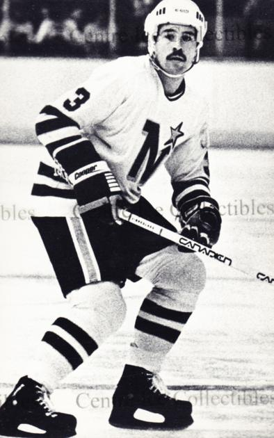 1979-80 Minnesota North Stars Postcards #2 Fred Barrett<br/>2 In Stock - $5.00 each - <a href=https://centericecollectibles.foxycart.com/cart?name=1979-80%20Minnesota%20North%20Stars%20Postcards%20%232%20Fred%20Barrett...&quantity_max=2&price=$5.00&code=538432 class=foxycart> Buy it now! </a>