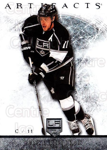 2012-13 UD Artifacts #3 Anze Kopitar<br/>5 In Stock - $1.00 each - <a href=https://centericecollectibles.foxycart.com/cart?name=2012-13%20UD%20Artifacts%20%233%20Anze%20Kopitar...&quantity_max=5&price=$1.00&code=538454 class=foxycart> Buy it now! </a>