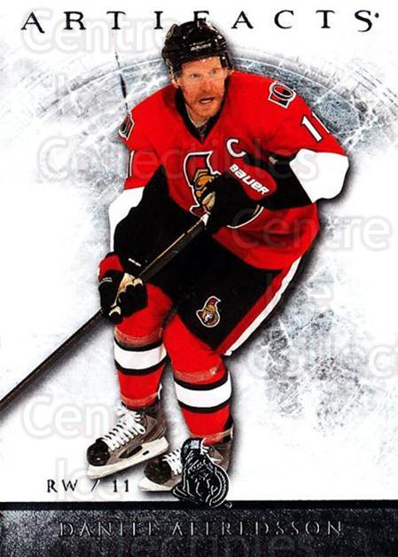 2012-13 UD Artifacts #15 Daniel Alfredsson<br/>5 In Stock - $1.00 each - <a href=https://centericecollectibles.foxycart.com/cart?name=2012-13%20UD%20Artifacts%20%2315%20Daniel%20Alfredss...&quantity_max=5&price=$1.00&code=538466 class=foxycart> Buy it now! </a>