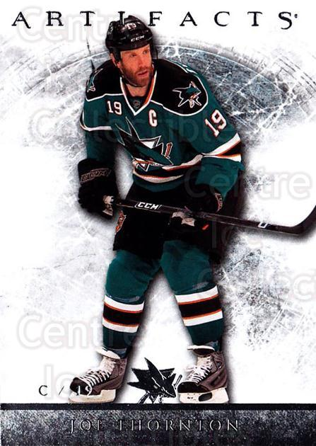2012-13 UD Artifacts #40 Joe Thornton<br/>5 In Stock - $1.00 each - <a href=https://centericecollectibles.foxycart.com/cart?name=2012-13%20UD%20Artifacts%20%2340%20Joe%20Thornton...&quantity_max=5&price=$1.00&code=538491 class=foxycart> Buy it now! </a>