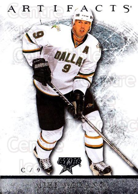 2012-13 UD Artifacts #63 Mike Modano<br/>5 In Stock - $1.00 each - <a href=https://centericecollectibles.foxycart.com/cart?name=2012-13%20UD%20Artifacts%20%2363%20Mike%20Modano...&quantity_max=5&price=$1.00&code=538514 class=foxycart> Buy it now! </a>