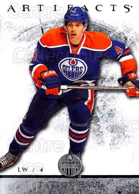 2012-13 UD Artifacts #90 Taylor Hall<br/>5 In Stock - $2.00 each - <a href=https://centericecollectibles.foxycart.com/cart?name=2012-13%20UD%20Artifacts%20%2390%20Taylor%20Hall...&quantity_max=5&price=$2.00&code=538541 class=foxycart> Buy it now! </a>