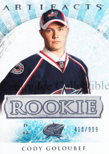 2012-13 UD Artifacts #165 Cody Goloubef<br/>2 In Stock - $3.00 each - <a href=https://centericecollectibles.foxycart.com/cart?name=2012-13%20UD%20Artifacts%20%23165%20Cody%20Goloubef...&quantity_max=2&price=$3.00&code=538616 class=foxycart> Buy it now! </a>