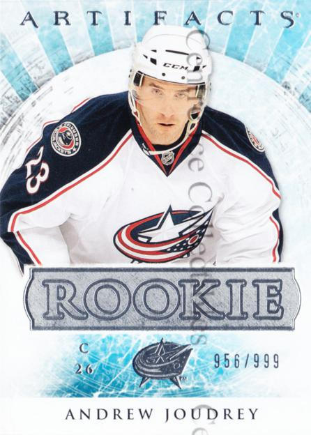 2012-13 UD Artifacts #167 Andrew Joudrey<br/>1 In Stock - $3.00 each - <a href=https://centericecollectibles.foxycart.com/cart?name=2012-13%20UD%20Artifacts%20%23167%20Andrew%20Joudrey...&quantity_max=1&price=$3.00&code=538618 class=foxycart> Buy it now! </a>