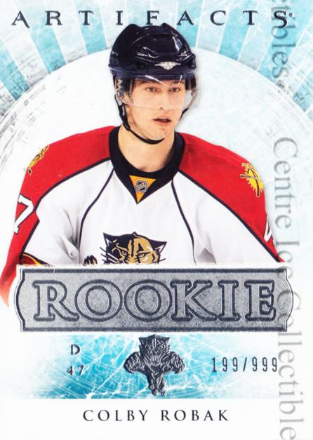 2012-13 UD Artifacts #174 Colby Robak<br/>2 In Stock - $3.00 each - <a href=https://centericecollectibles.foxycart.com/cart?name=2012-13%20UD%20Artifacts%20%23174%20Colby%20Robak...&quantity_max=2&price=$3.00&code=538625 class=foxycart> Buy it now! </a>