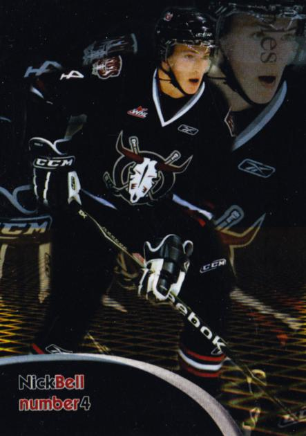 2009-10 Red Deer Rebels #3 Nick Bell<br/>1 In Stock - $3.00 each - <a href=https://centericecollectibles.foxycart.com/cart?name=2009-10%20Red%20Deer%20Rebels%20%233%20Nick%20Bell...&price=$3.00&code=538690 class=foxycart> Buy it now! </a>