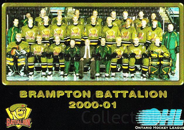 2000-01 Brampton Battalion #2 Team Photo, Brampton Battalion<br/>1 In Stock - $2.00 each - <a href=https://centericecollectibles.foxycart.com/cart?name=2000-01%20Brampton%20Battalion%20%232%20Team%20Photo,%20Bra...&price=$2.00&code=539112 class=foxycart> Buy it now! </a>