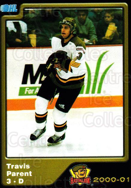 2000-01 Brampton Battalion #5 Travis Parent<br/>4 In Stock - $3.00 each - <a href=https://centericecollectibles.foxycart.com/cart?name=2000-01%20Brampton%20Battalion%20%235%20Travis%20Parent...&price=$3.00&code=539115 class=foxycart> Buy it now! </a>