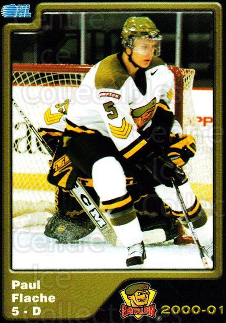 2000-01 Brampton Battalion #7 Paul Flache<br/>1 In Stock - $3.00 each - <a href=https://centericecollectibles.foxycart.com/cart?name=2000-01%20Brampton%20Battalion%20%237%20Paul%20Flache...&price=$3.00&code=539117 class=foxycart> Buy it now! </a>