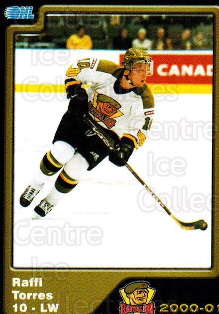2000-01 Brampton Battalion #11 Raffi Torres<br/>1 In Stock - $3.00 each - <a href=https://centericecollectibles.foxycart.com/cart?name=2000-01%20Brampton%20Battalion%20%2311%20Raffi%20Torres...&price=$3.00&code=539121 class=foxycart> Buy it now! </a>