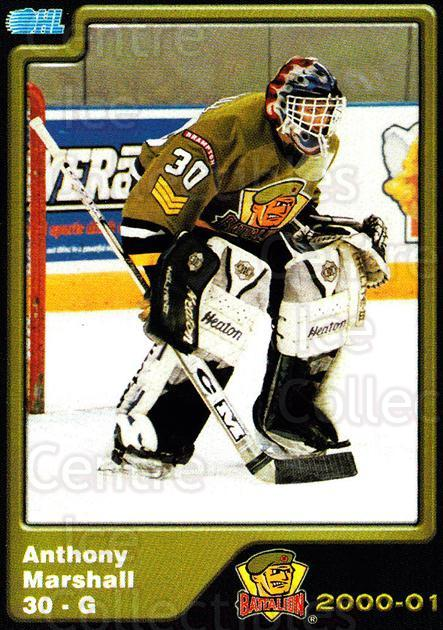 2000-01 Brampton Battalion #24 Andrew Marshall<br/>5 In Stock - $3.00 each - <a href=https://centericecollectibles.foxycart.com/cart?name=2000-01%20Brampton%20Battalion%20%2324%20Andrew%20Marshall...&price=$3.00&code=539134 class=foxycart> Buy it now! </a>