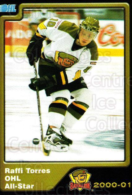 2000-01 Brampton Battalion #29 Raffi Torres<br/>1 In Stock - $3.00 each - <a href=https://centericecollectibles.foxycart.com/cart?name=2000-01%20Brampton%20Battalion%20%2329%20Raffi%20Torres...&price=$3.00&code=539139 class=foxycart> Buy it now! </a>