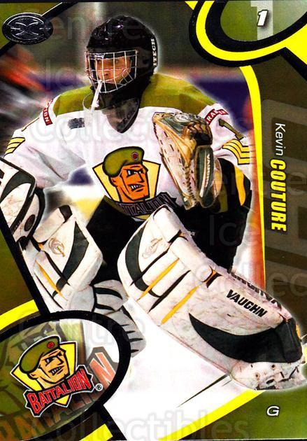 2004-05 Brampton Battalion #3 Kevin Couture<br/>1 In Stock - $3.00 each - <a href=https://centericecollectibles.foxycart.com/cart?name=2004-05%20Brampton%20Battalion%20%233%20Kevin%20Couture...&price=$3.00&code=539145 class=foxycart> Buy it now! </a>