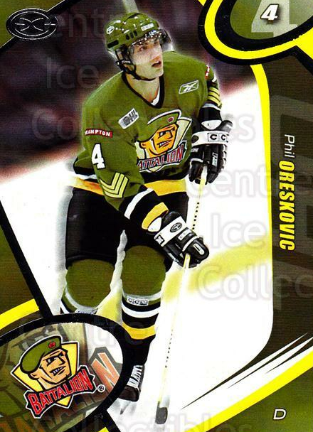 2004-05 Brampton Battalion #6 Phil Oreskovic<br/>1 In Stock - $3.00 each - <a href=https://centericecollectibles.foxycart.com/cart?name=2004-05%20Brampton%20Battalion%20%236%20Phil%20Oreskovic...&price=$3.00&code=539148 class=foxycart> Buy it now! </a>