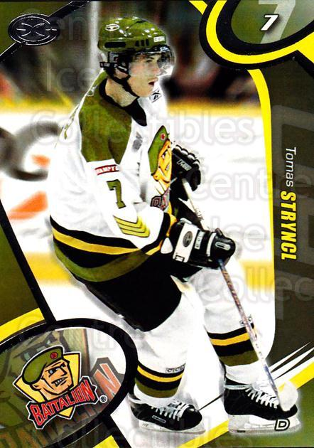 2004-05 Brampton Battalion #9 Tomas Stryncl<br/>5 In Stock - $3.00 each - <a href=https://centericecollectibles.foxycart.com/cart?name=2004-05%20Brampton%20Battalion%20%239%20Tomas%20Stryncl...&price=$3.00&code=539151 class=foxycart> Buy it now! </a>