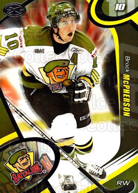 2004-05 Brampton Battalion #12 Brock McPherson<br/>5 In Stock - $3.00 each - <a href=https://centericecollectibles.foxycart.com/cart?name=2004-05%20Brampton%20Battalion%20%2312%20Brock%20McPherson...&price=$3.00&code=539154 class=foxycart> Buy it now! </a>