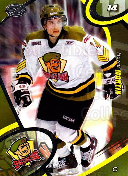 2004-05 Brampton Battalion #14 Howie Martin<br/>9 In Stock - $3.00 each - <a href=https://centericecollectibles.foxycart.com/cart?name=2004-05%20Brampton%20Battalion%20%2314%20Howie%20Martin...&price=$3.00&code=539156 class=foxycart> Buy it now! </a>