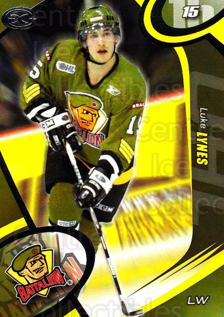 2004-05 Brampton Battalion #15 Luke Lynes<br/>4 In Stock - $3.00 each - <a href=https://centericecollectibles.foxycart.com/cart?name=2004-05%20Brampton%20Battalion%20%2315%20Luke%20Lynes...&price=$3.00&code=539157 class=foxycart> Buy it now! </a>
