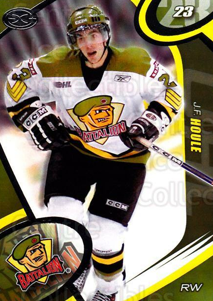 2004-05 Brampton Battalion #21 JF Houle<br/>5 In Stock - $3.00 each - <a href=https://centericecollectibles.foxycart.com/cart?name=2004-05%20Brampton%20Battalion%20%2321%20JF%20Houle...&price=$3.00&code=539163 class=foxycart> Buy it now! </a>
