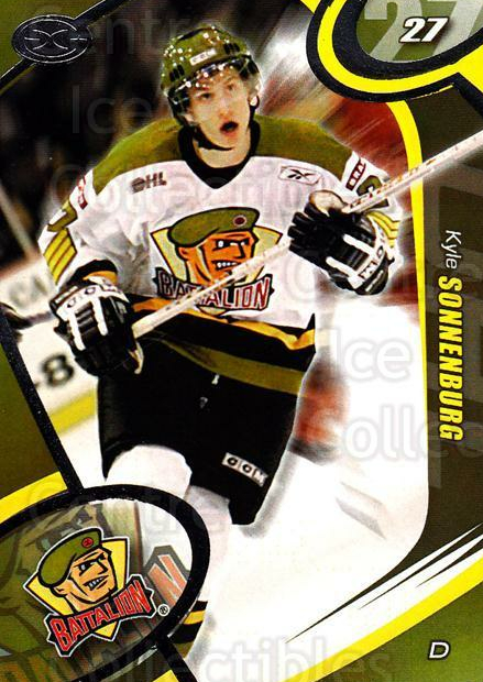 2004-05 Brampton Battalion #25 Kyle Sonnenburg<br/>5 In Stock - $3.00 each - <a href=https://centericecollectibles.foxycart.com/cart?name=2004-05%20Brampton%20Battalion%20%2325%20Kyle%20Sonnenburg...&price=$3.00&code=539167 class=foxycart> Buy it now! </a>