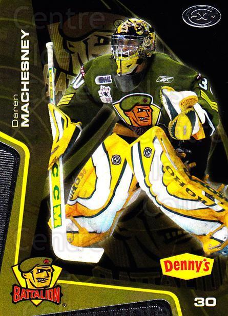 2005-06 Brampton Battalion #5 Daren Machesney<br/>1 In Stock - $3.00 each - <a href=https://centericecollectibles.foxycart.com/cart?name=2005-06%20Brampton%20Battalion%20%235%20Daren%20Machesney...&price=$3.00&code=539172 class=foxycart> Buy it now! </a>