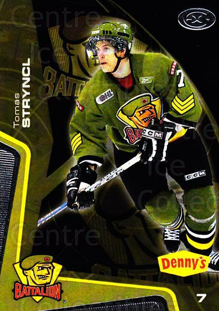 2005-06 Brampton Battalion #8 Tomas Stryncl<br/>2 In Stock - $3.00 each - <a href=https://centericecollectibles.foxycart.com/cart?name=2005-06%20Brampton%20Battalion%20%238%20Tomas%20Stryncl...&price=$3.00&code=539175 class=foxycart> Buy it now! </a>