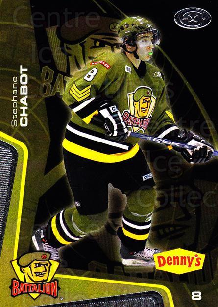 2005-06 Brampton Battalion #9 Stephane Chabot<br/>3 In Stock - $3.00 each - <a href=https://centericecollectibles.foxycart.com/cart?name=2005-06%20Brampton%20Battalion%20%239%20Stephane%20Chabot...&price=$3.00&code=539176 class=foxycart> Buy it now! </a>