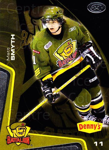 2005-06 Brampton Battalion #11 Matt Smyth<br/>3 In Stock - $3.00 each - <a href=https://centericecollectibles.foxycart.com/cart?name=2005-06%20Brampton%20Battalion%20%2311%20Matt%20Smyth...&price=$3.00&code=539178 class=foxycart> Buy it now! </a>
