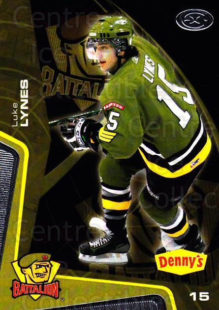 2005-06 Brampton Battalion #13 Luke Lynes<br/>1 In Stock - $3.00 each - <a href=https://centericecollectibles.foxycart.com/cart?name=2005-06%20Brampton%20Battalion%20%2313%20Luke%20Lynes...&price=$3.00&code=539180 class=foxycart> Buy it now! </a>