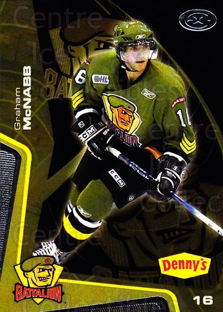 2005-06 Brampton Battalion #14 Graham McNabb<br/>3 In Stock - $3.00 each - <a href=https://centericecollectibles.foxycart.com/cart?name=2005-06%20Brampton%20Battalion%20%2314%20Graham%20McNabb...&price=$3.00&code=539181 class=foxycart> Buy it now! </a>
