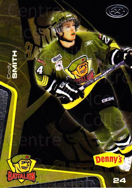 2005-06 Brampton Battalion #20 Cody Smith<br/>3 In Stock - $3.00 each - <a href=https://centericecollectibles.foxycart.com/cart?name=2005-06%20Brampton%20Battalion%20%2320%20Cody%20Smith...&price=$3.00&code=539187 class=foxycart> Buy it now! </a>